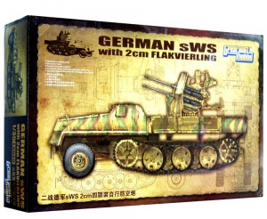 1:35 SWS with 2cm FLAK - GREAT WALL HOBBY L3525