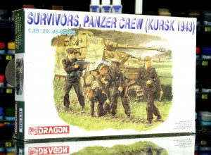 Dragon 6129 Survivors Panzer Crew Kursk 43