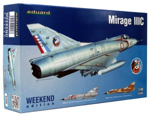 1:48 DASSAULT MIRAGE III C - Eduard 8496 [Weekend Edition]