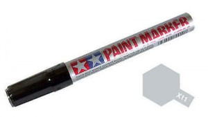 Tamiya Paint Marker X- 11 Gloss Chrome Silver - 89011