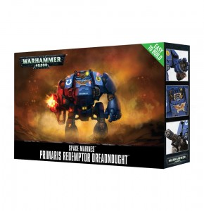 _Warhammer 40 000  Space Marine - Easy To Build Primaris Redemptor Dreadnought 4887