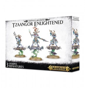 Warhammer AGE OF SIGMAR - Deamons of Tzeentch - Tzaangor Enlightened 8374