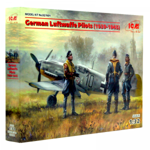 1:32 German Luftwaffe Pilots (1939-1945) - ICM 32101