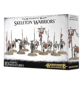 .Warhammer AGE OF SIGMAR - Vampire Countes Skeletons 9106