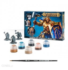 .Warhammer AGE OF SIGMAR - Stormcast Eternals + Paint Set 6010