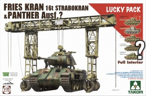 1:35 Takom 2108  Fries Kran 16t Strabokran & Panther - full interior