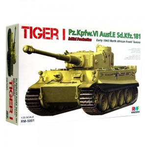 1:35 Sd.Kfz.181 Pz.Kpfw.VI E Tiger I initial - African Front / Tunisia – RFM 5001