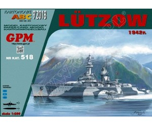 1:200 LUTZOW 1942 - GPM 518
