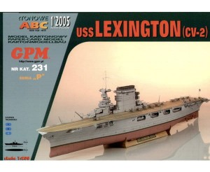 1:200 USS LEXINGTON CV-2 - GPM 231