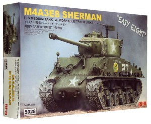 1:35 M3A4E8 SHERMAN Easy Eight – RFM 5028