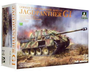 1:35 SD.KFZ.173 JAGDPANTHER Ausf.G1 full interrior - Takom 2125