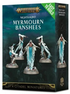 .Warhammer AGE OF SIGMAR - Nighthaunt MYRMOURN BANSHEES 7111 Easy to build