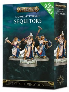 .Warhammer AGE OF SIGMAR - Stormcast Eternals SEQUITORS 7109 Easy to build