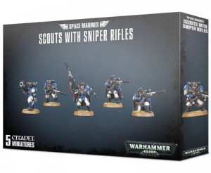 Warhammer 40 000  Space Marine - CENTAURION SCOUTS WITH SNIPER RIFLES 4829