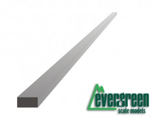 Evergreen 147 Profil - prostokąt 1,0 x 4,0 x 350 mm