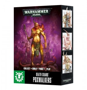 Warhammer 40 000 Death Guard POXWALKERS 4341 Easy To Build
