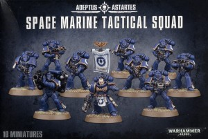 _Warhammer 40 000  Space Marine - TACTICAL SQAD 4807