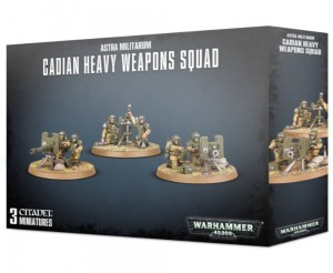 _Warhammer 40 000  Astra Militarum - CADIAN HEAVY WEAPON SQAD 4719