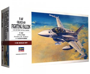 1:48 General Dynamics F-16 F Block 60 FIGHTING FALCON - Hasegawa 07244 PT-44
