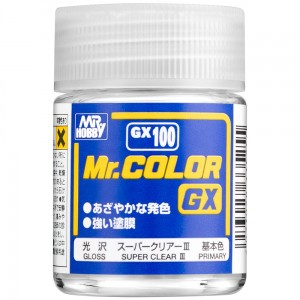 Mr.Color GX-100 SUPER CLEAR III