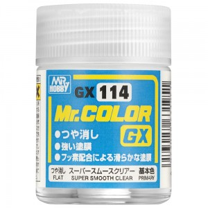 Mr.Color GX-114 SUPER SMOOTH CLEAR 18 ml