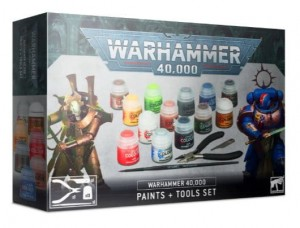 Warhammer 40 000  PAINTS+TOOLS SET - 6012