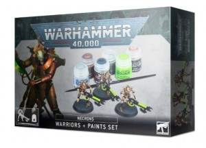 Warhammer 40 000  NECRONS PAINT SET + - 6069