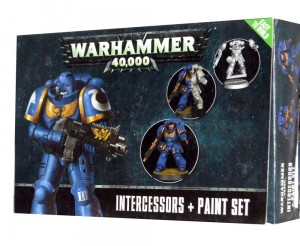 Warhammer 40000 - INTERCESSORS + Paint Set 6 X 12ml - 601117