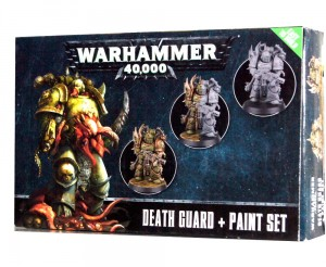 Warhammer 40000 - DEATH GUARD + Paint Set 6 X 12ml - 602717