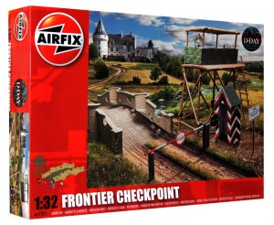 1:32 Diorama - FRONTIER CHECKPOINT - Airfix 06383