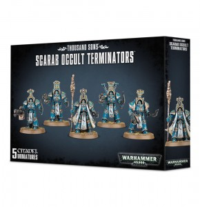 Warhammer 40 000  Thousand Sons - SCRAB OCCULT TERMINATORS 4336