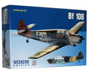 1:32 Messerschmitt Bf-108- EDUARD 3404 Weekend