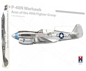 1:48 Curtiss P-40  N WARHAWK Aces of the 49th FG - Hobby2000 48001
