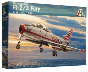 1:48 North American FJ-2/3 FURY- Italeri 2811