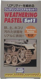 Mr.Hobby PP-101 Weathering Pastel Set 1