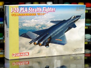 1:144 PLA J-20 Stealth Fighter - Dragon 4625