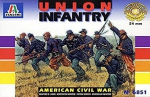 Italeri 6851 American Civil War -  Union Infantry