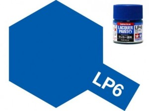 Tamiya LP- 6 Gloss Pure Blue 10 ml - 82106