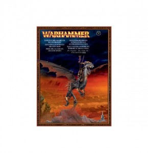 Warhammer AGE OF SIGMAR - Dark Elf - Dreadlord on Black Dragon 8509