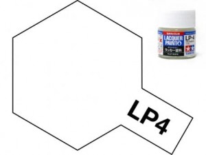 Tamiya LP- 4 Flat White 10 ml - 82104