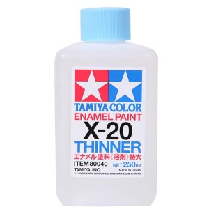 Tamiya 80040  X-20 Rozcieńczalnik do Tamiya Color Enamel Paint - 250 ml