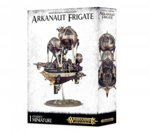 Warhammer AGE OF SIGMAR - Kharadron Overlords - Arkanaut Frigate 8439