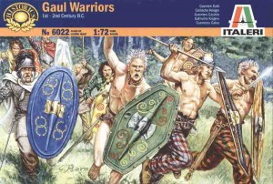 Italeri 6022 Gaul Warriors II-I w.p.n.e.