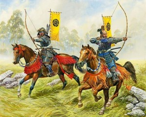 X 6416 Mounted Samurai - Archers