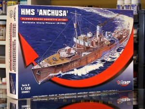1:350 HMS Anchusa - Mirage 350801