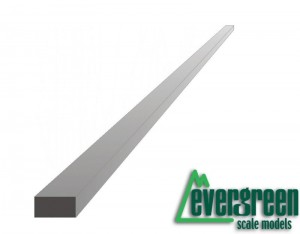 Evergreen 166 Profil - prostokąt 2,0 x 3,2 x 350 mm