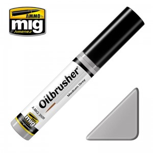 AMMO 3509 Oilbrusher Medium Grey