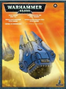 _Warhammer 40 000  Space Marine - Drop Pod 4827