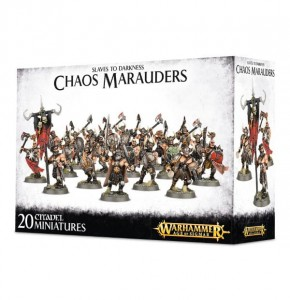 Warhammer AGE OF SIGMAR - Chaos - Slaves to Darkness - Chaos Marauders