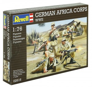 1:76 GERMAN AFRIKA CORPS - Revell 02616